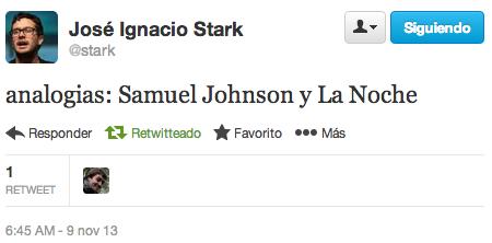 Tweet de Stark