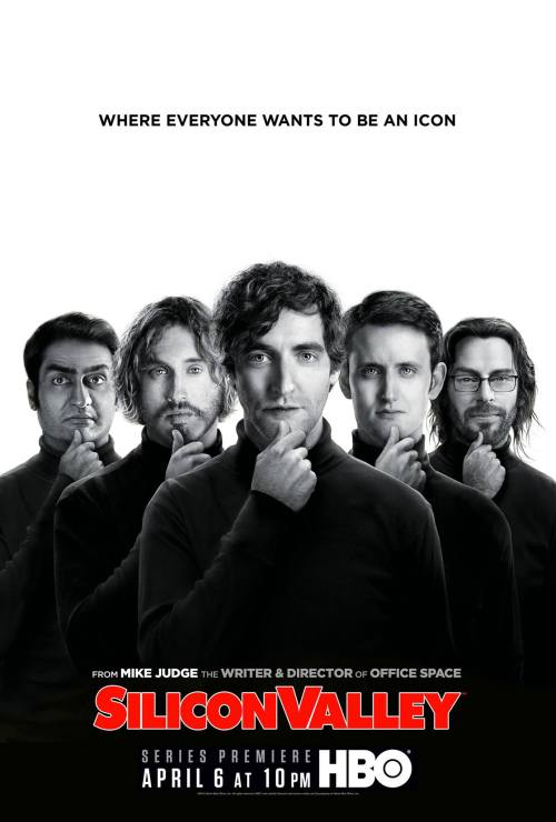 Afiche de Silicon Valley
