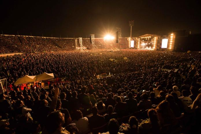 Pearl Jam, estadio